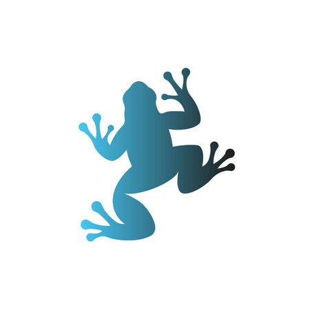 Creative design of a  toad vector illustration trendy.