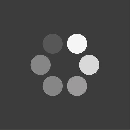 Abstract minimalisme in de vorm van cirkels logo's stijl iconen downloaden
