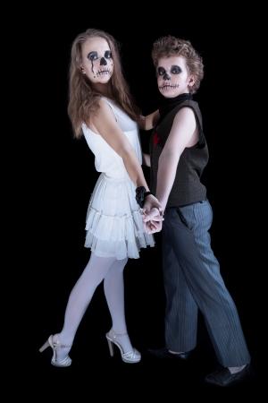 zombie children photo