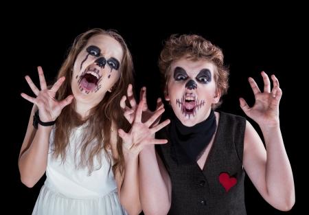 zombie children Banco de Imagens