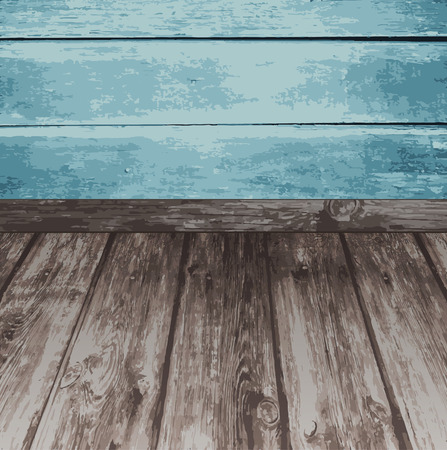 wooden surface: Wood texture. Natural vector wooden background. Illustration
