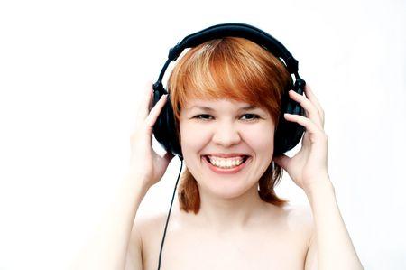 girl in head-phones Stock Photo - 339126