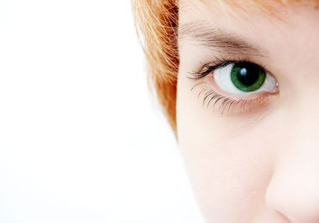 green eye look Stock Photo - 339124