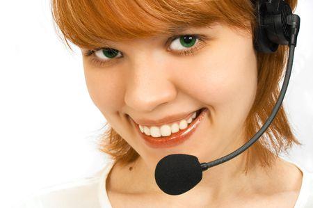 girl operator photo