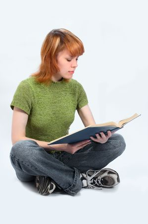 young student girl Stock Photo - 443370