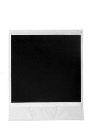 Old Photo Frames sur blanc Banque d'images