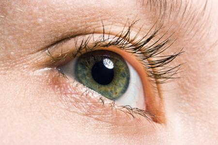 beauty woman macro eye Stock Photo - 1398534