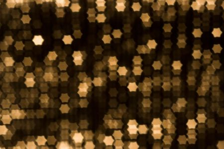 bash: beauty blur yellow stars background Stock Photo