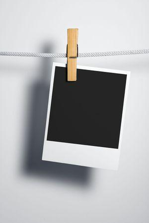 adjuntar: Pel�cula en blanco en la ropa adjuntar Rope-peg