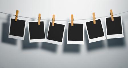 Film Blanks sur corde joindre PEG-v�tements