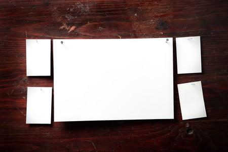 adjuntar: Papel fotogr�fico adjuntar clavo de madera de fondo