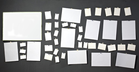 adjuntar: papel fotogr�fico blanco adjuntar al muro gris