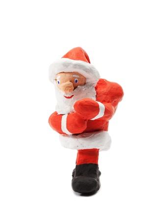 santaclause: christmas santa claus isolated on white background