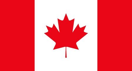Flag Canada Illustration
