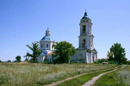 voronezh: Russia. Voronezh region, church, village Losevo