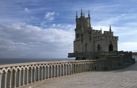 crimea: Crimea, a swallows nest castle Editorial