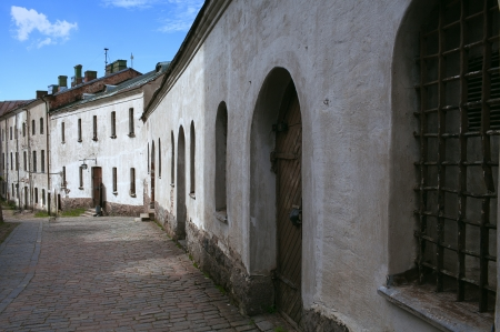 13th century: Vyborg Castle dating from the 13th century Stock Photo