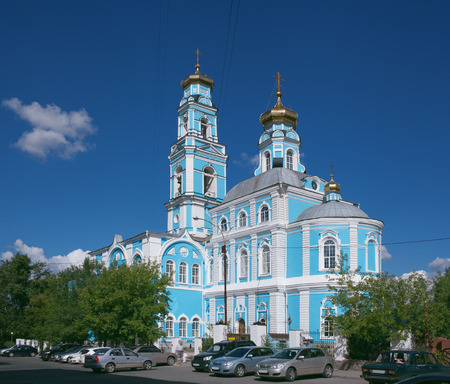 ascension: Yekaterinburg. Church of the Ascension