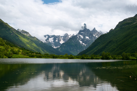 dombay: Mountain lake