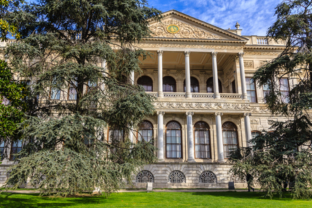Dolmabahce palace facade