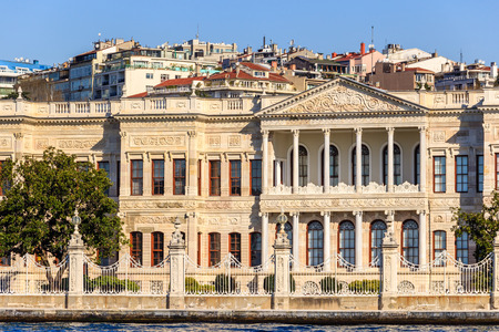 Dolmabahce palace, Istanbul, view from Marmara sea