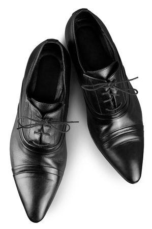 Black man's shoes
