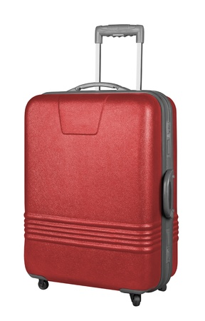 Suitcase isolated on a white background. Stock Photo - 8804912