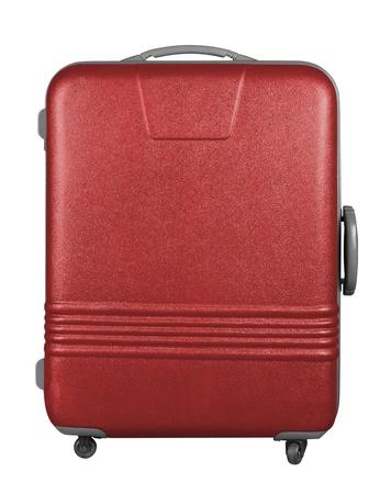 Suitcase isolated on a white background. Stock Photo - 8804913