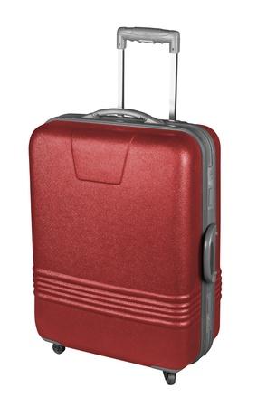 Suitcase isolated on a white background. Stock Photo - 8995155
