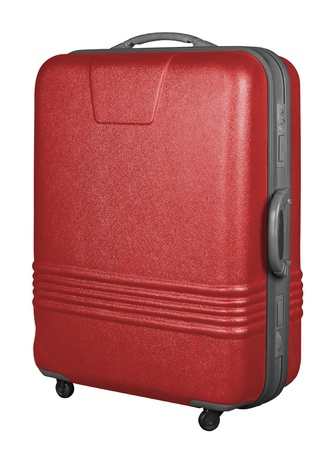 Suitcase isolated on a white background. Stock Photo - 8995158