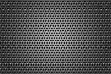 grid: Griglia metallica cerchi trama grigio Archivio Fotografico
