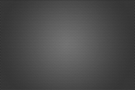 speaker grill: Metal Grid circles gray texture