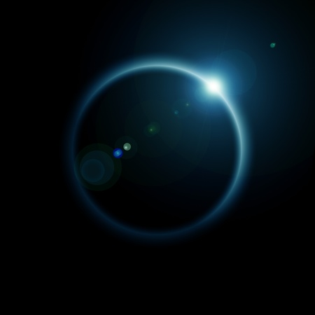 melkachtig: Rising Sun op de planeet