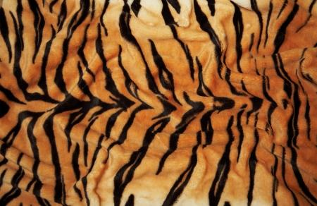 animal print: La textura de una piel de tigre (de piel)