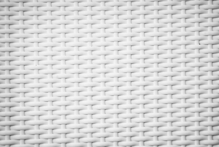 wicker: Un tejido blanco backgroundv textura Foto de archivo
