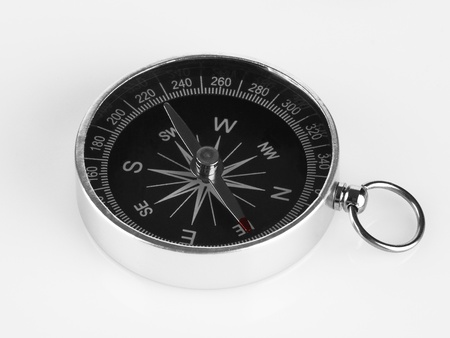 Compass isolated on white backgroun Stock Photo - 11036178