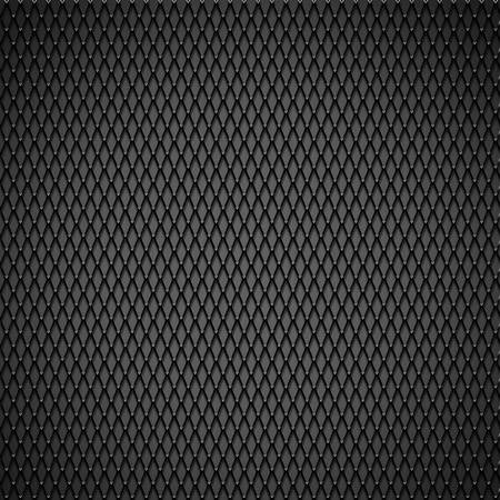 Metal wire mesh, black and gray