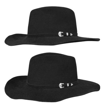 Black hat isolated on white background Stock Photo - 12350765