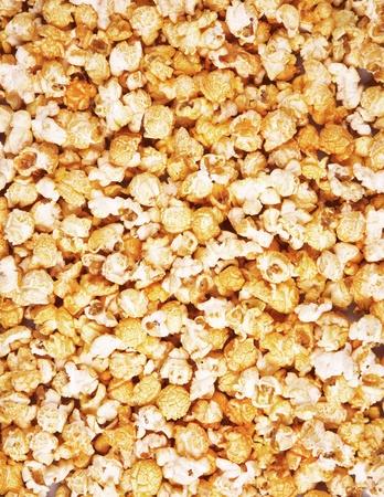 popcorn background close-up photo