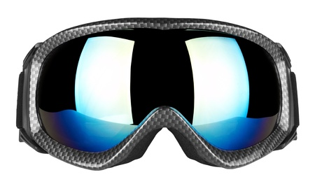 Ski goggles isolated on the white background photo
