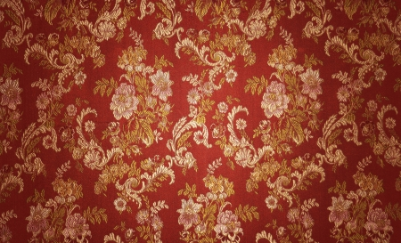 brocade: Abstract textile vintage flower background