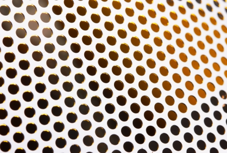 meshy: Metal Grid background close up Stock Photo