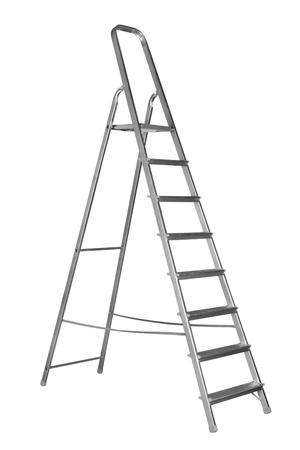Ladder isolated on the white background