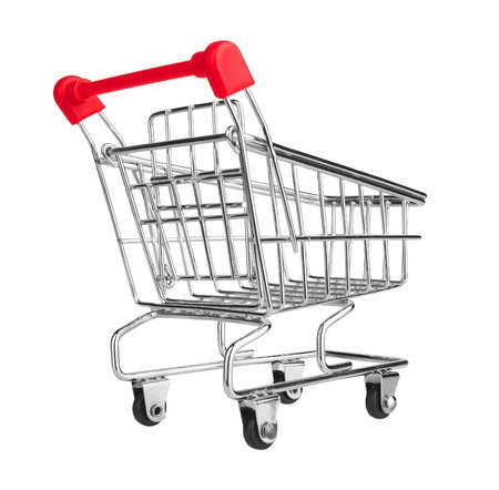 Shopping Cart isolated on white background Stock Photo - 18531674