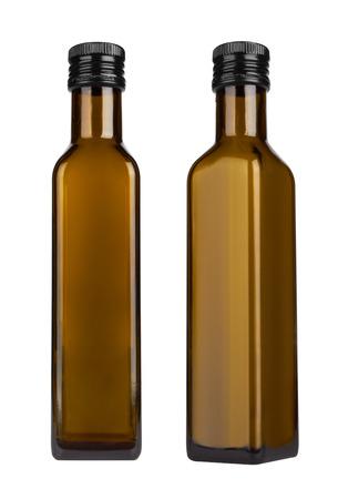 brown bottle: Bottle isolated on white background Stock Photo