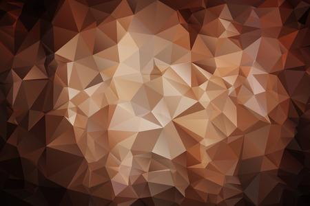 broun: Abstract geometric vector polygon background Illustration