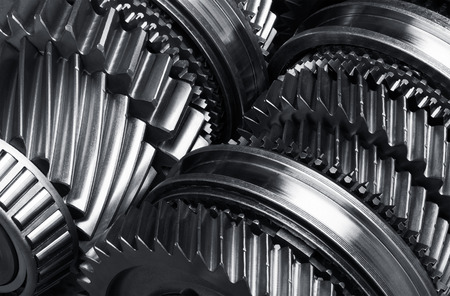 Getriebe Metallräder Nahaufnahme Standard-Bild - 35949068