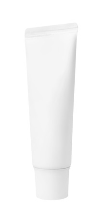 hair conditioner: Plastic bottles of shampoo, conditioner, hair rinse, gel, on a white background