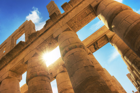 thebes: Temple of Karnak (ancient Thebes). Luxor, Egypt