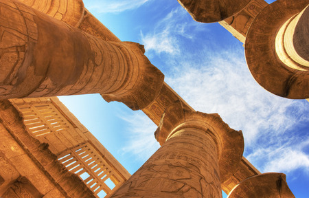 Temple of Karnak (ancient Thebes). Luxor, Egypt photo